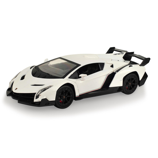 Lamborghini 1:24 Scale Friction Car - White