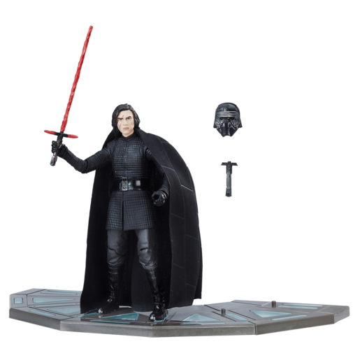 Star Wars Black Series - Kylo Ren Figure in Throne Room