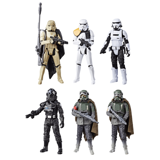 Star Wars Force Link 2.0 Stormtrooper Squad 9cm Figures - 6 Pack