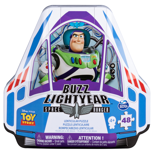 Disney Pixar Toy Story 4 Buzz Lightyear Space Ranger Puzzle Tin
