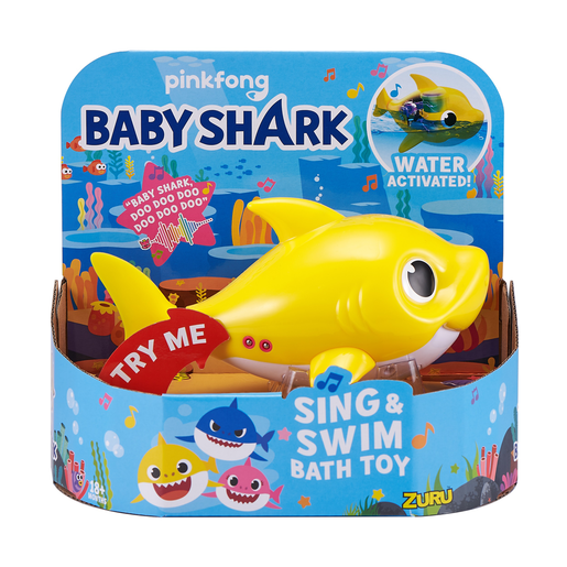 Baby Shark Sing and Swim Bath Toy - Baby Shark