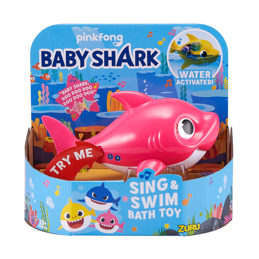 Baby Shark Sing and Swim Bath Toy - Mummy Shark
