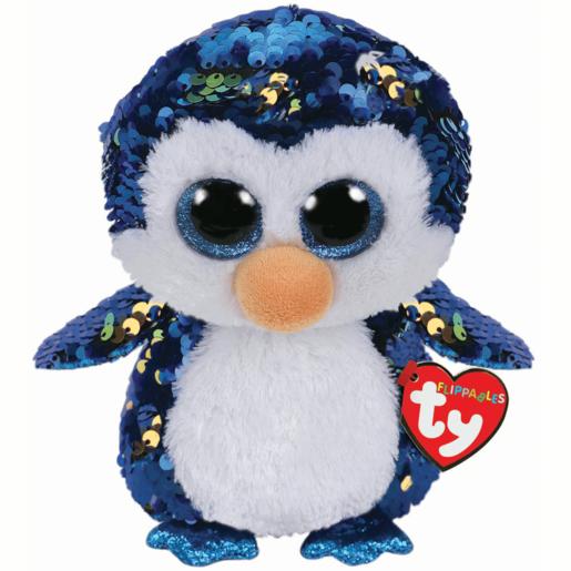 Ty Flippables 23cm Soft Toy - Payton Penguin from TheToyShop