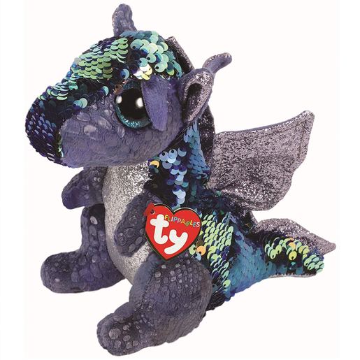 Ty Flippables 23cm Soft Toy - Kate The Dragon