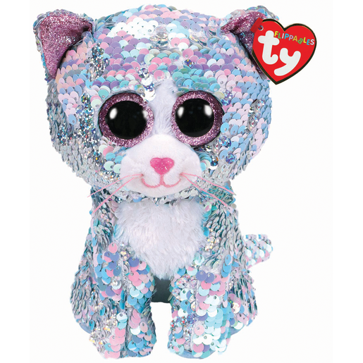 Ty Flippables 23cm Soft Toy - Whimsy The Cat