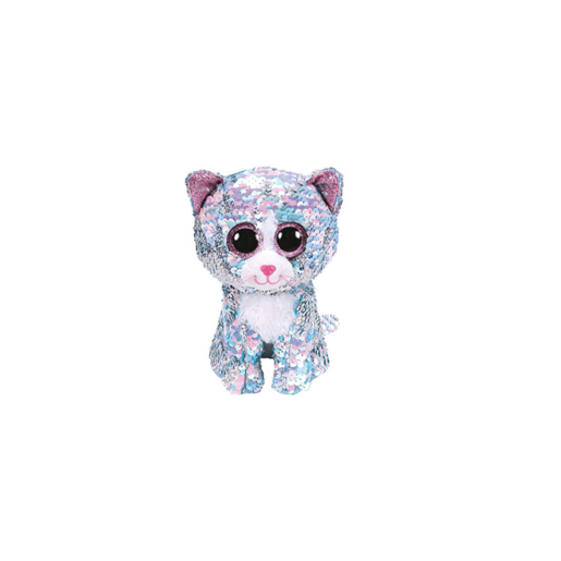Ty Flippables Large 40cm Soft Toy - Whimsy The Cat