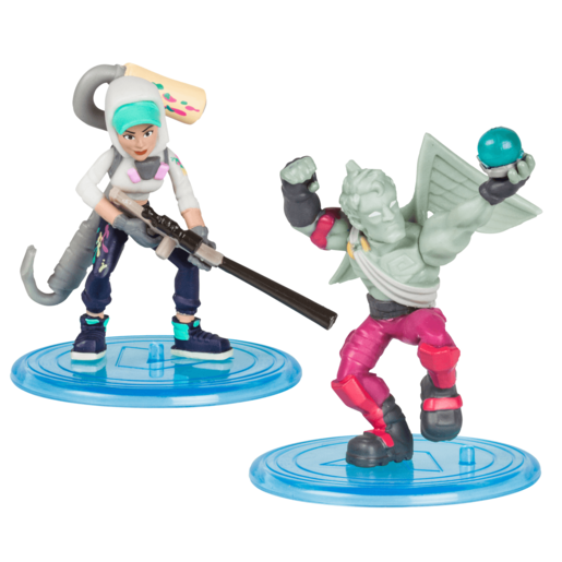 Fortnite Battle Royale 5cm Collection 2 Pack - Love Ranger and Teknique