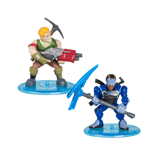 Fortnite Battle Royale 5cm Collection 2 Pack - Sergeant Jonesy and Carbide