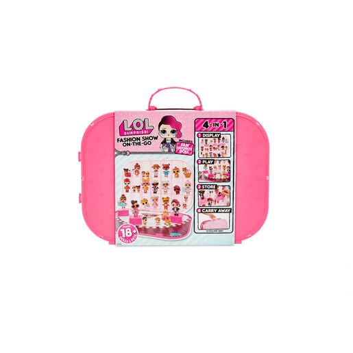 L.O.L. Surprise! Fashion Show On-the-Go Storage and Playset - Hot Pink