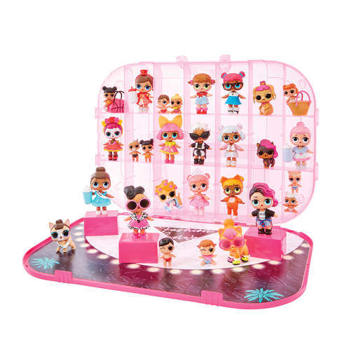 L.O.L. Surprise! Fashion Show On-the-Go Storage and Playset - Light Pink