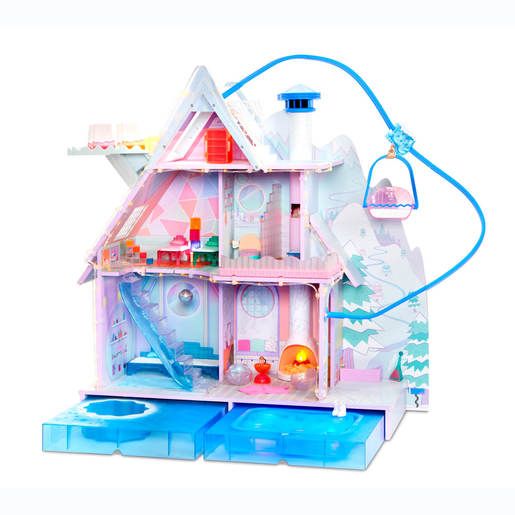 L.O.L. Surprise! Winter Disco Chalet Doll House