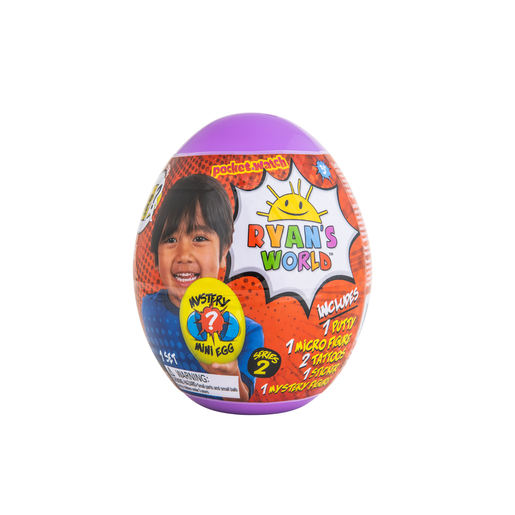 Ryan's World Mystery Mini Egg - Series 2