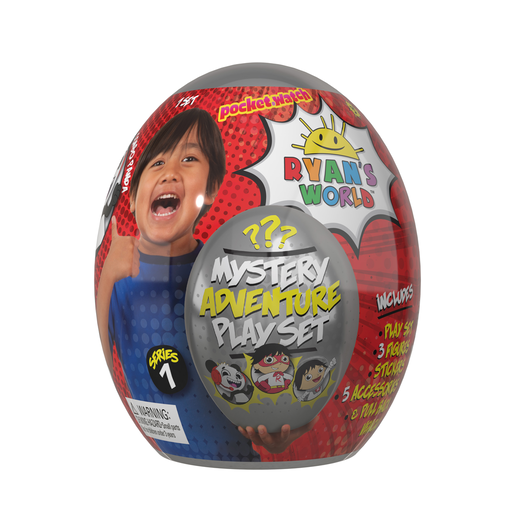 Ryan's World Mystery Egg Playset