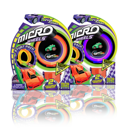 Micro Wheels Stunt Pack