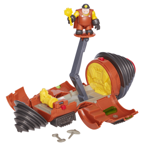 Disney Pixar Incredibles 2 - Underminer Vehicle Playset