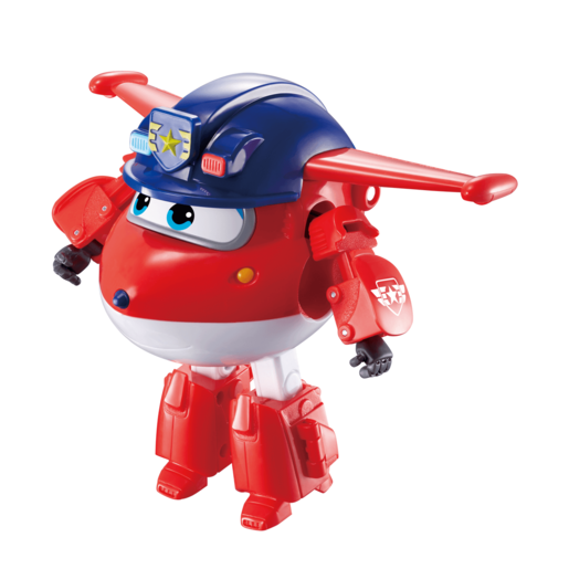 Super Wings Series 3 Transform a Bots - Police Jett