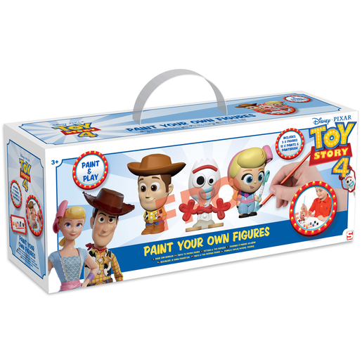Toy Story 4 - 3 Pack Paint Your Own Figure