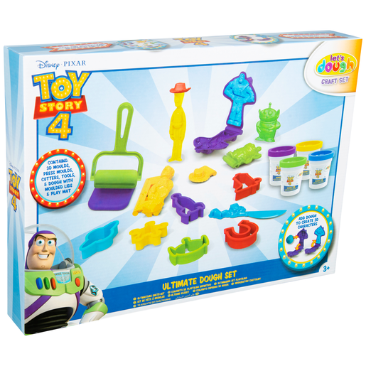 Disney Pixar Toy Story 4 Let's Dough Ultimate Dough Set