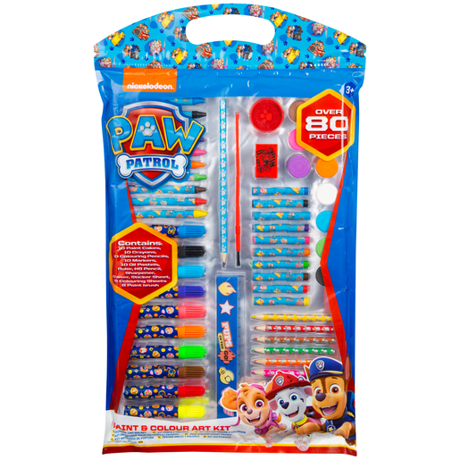Paw Patrol Colouring Art Kit