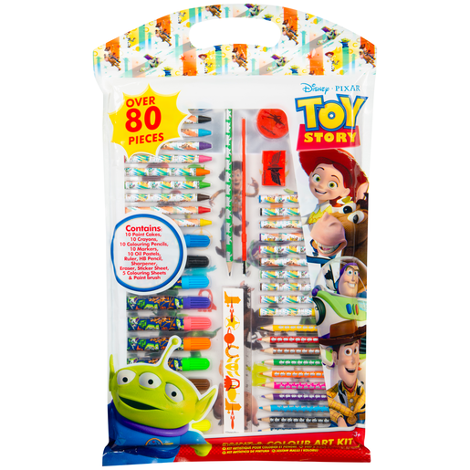 Disney Pixar Toy Story 4 Paint and Colour Art Kit