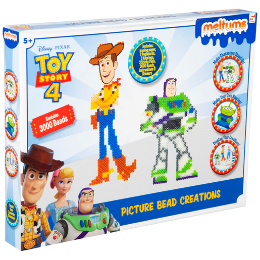 Disney Pixar Toy Story 4 Meltums Picture Bead Creations
