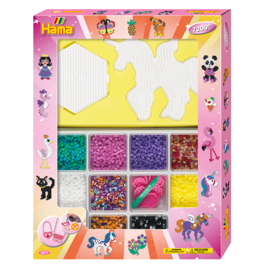 Hama Beads Giant Open Gift Box
