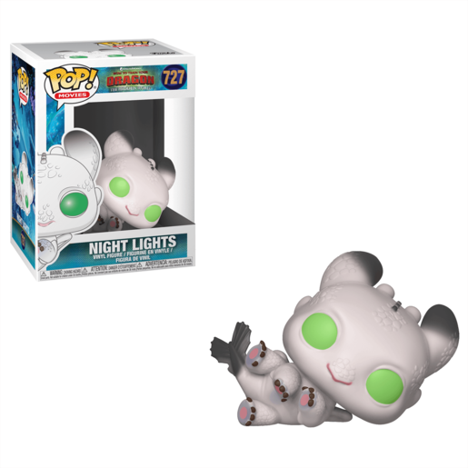 Funko Pop! Movies: How To Train Your Dragon - The Hidden World - Night Light (White)