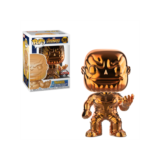 Funko Pop! Marvel: Avengers Infinity War - Chrome Thanos