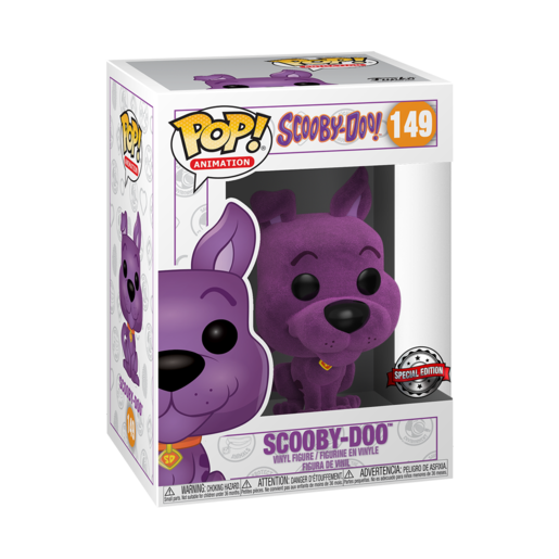 Funko Pop! Animation: Scooby-Doo - Scooby-Doo Special Edition (Purple)