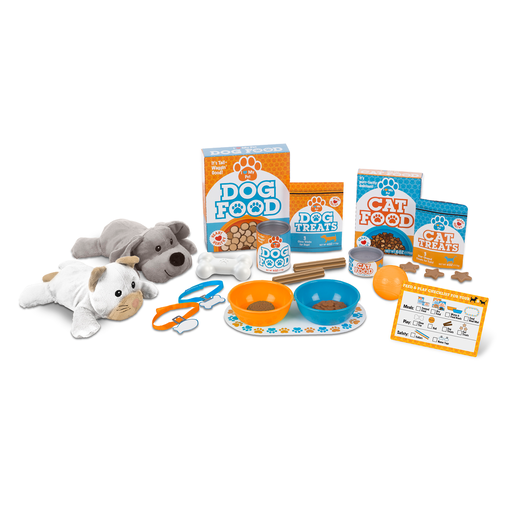 Melissa and Doug Pet Treats Playset - Feed & Play