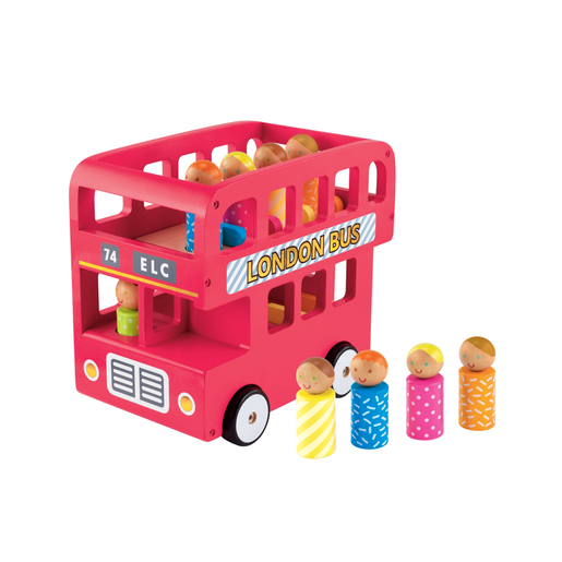 Early Learning Centre Wooden London Bus