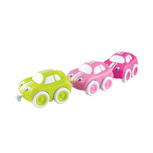 Whizz World Trio Cars - Pink