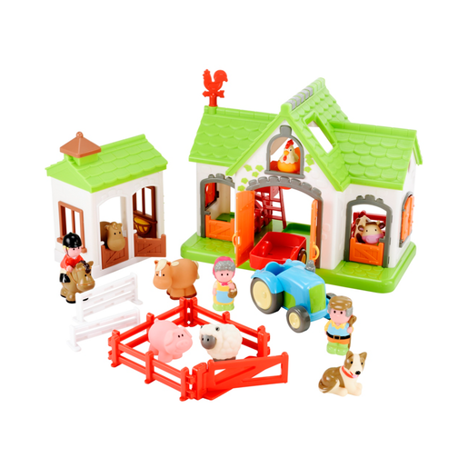 Happyland Farm Playset