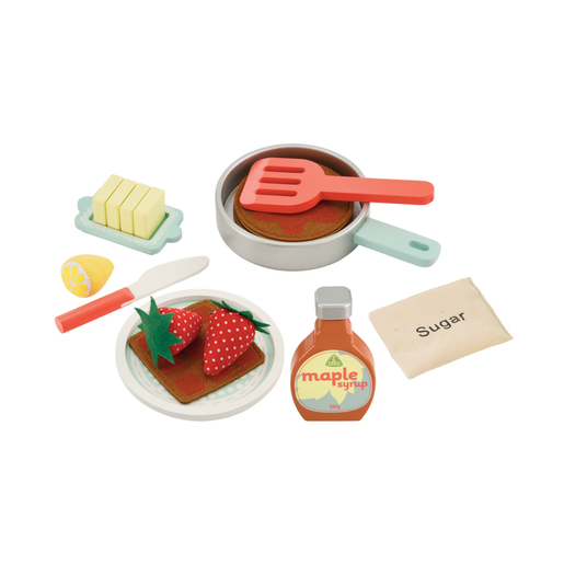 Early Learning Centre Wooden Pancake Set