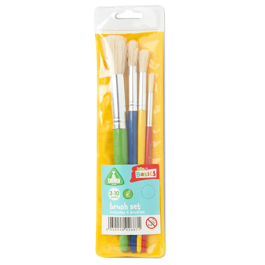 Early Learning Centre Bits & Basics Brush Set - 4 Pack