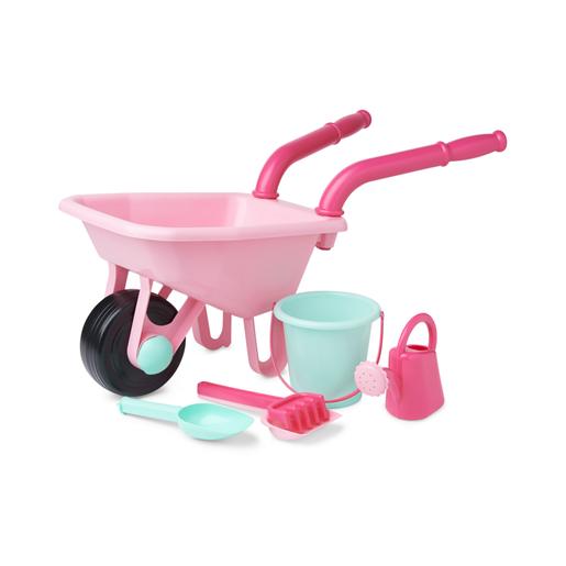 Early Learning Centre Wheelbarrow Set   Pink