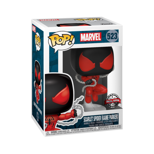 Funko Pop! Marvel: 80th Anniversary - Scarlet Spider (Kaine Parker) Bobble-Head