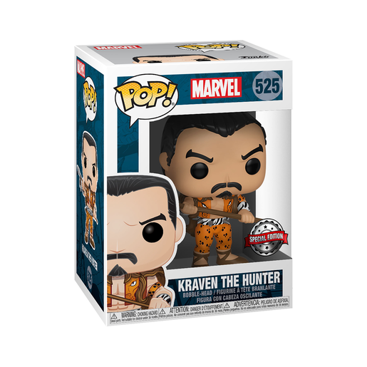 Funko Pop! Marvel: 80th Anniversary - Kraven The Hunter Bobble-Head