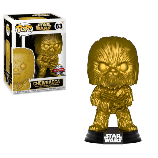 Funko Pop! Star Wars: The Rise of Skywalker - Chewbacca Bobble-Head (Matt Gold)