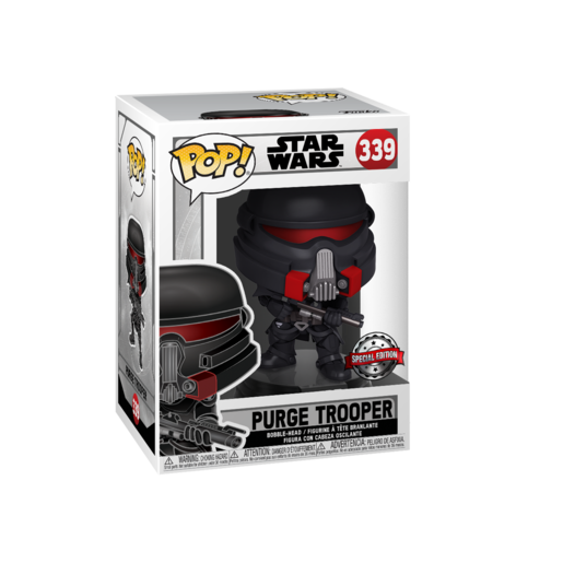 Funko Pop! Star Wars: The Last Jedi Fallen Order - Purge Trooper Bobble-Head