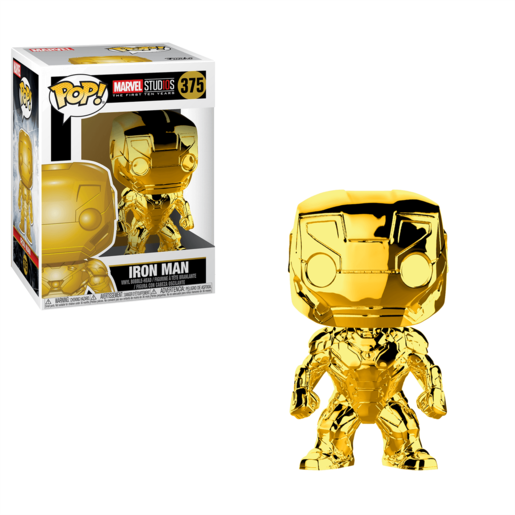 Funko Pop! Marvel - Chrome Iron Man