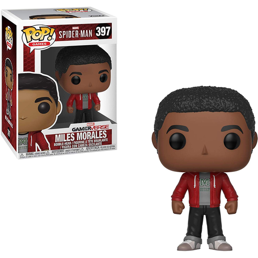 Funko Pop! Marvel: Spider-Man Gameverse - Miles Morales Bobble-Head