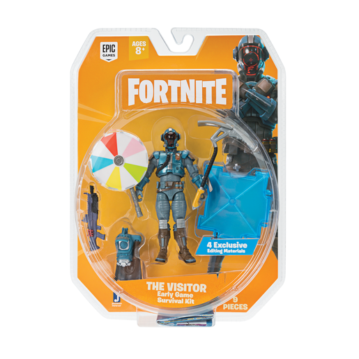Fortnite Early Game Survival Kit for 10cm Core Figures - The Visitor