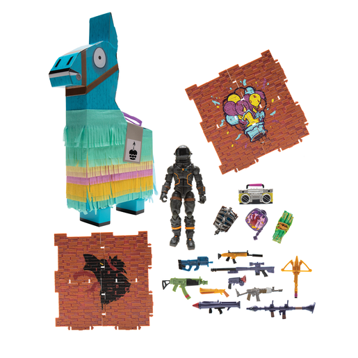 Fortnite Llama Loot Pinata for 10cm Core Figures- Dark Voyager