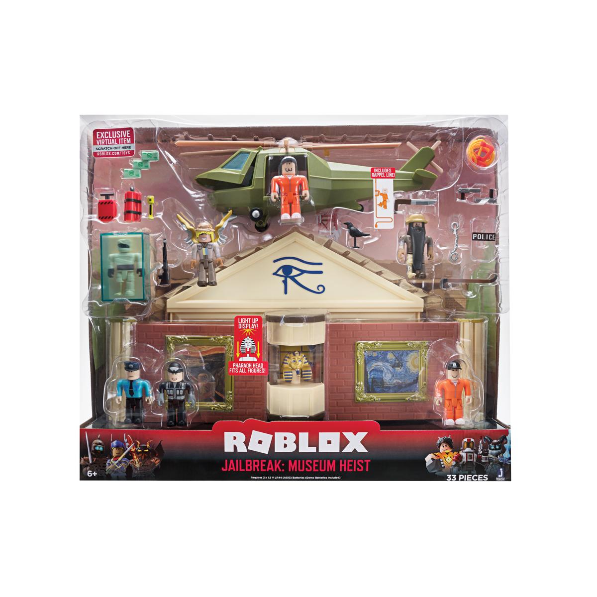 ROBLOX - Jailbreak: Museum Heist Deluxe Playset