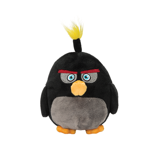 Angry Birds 23cm Plush Soft Toy - Bomb