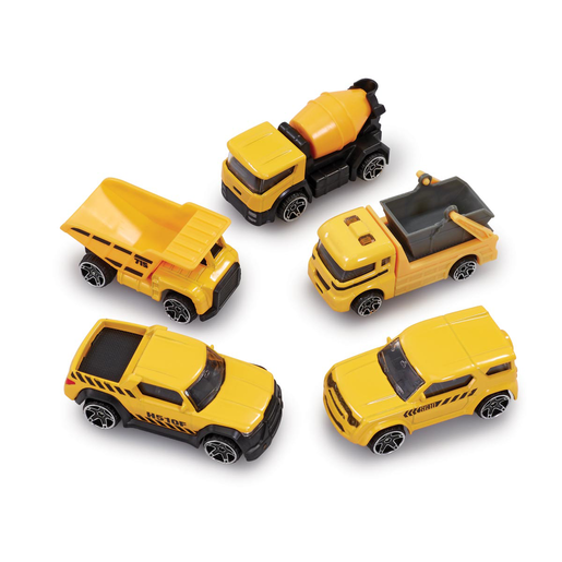 Big City 5 Pack Cars - Construction