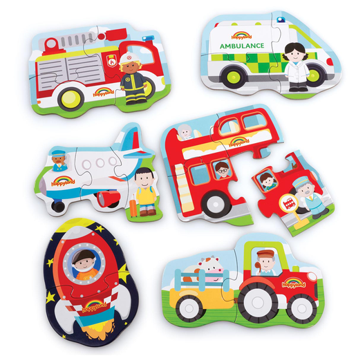 Early Learning Centre Vehicle Puzzles