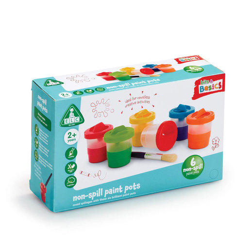 Early Learning Centre Non-Spill Paint Pots