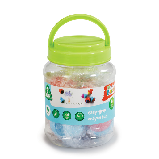 Early Learning Centre Bits & Basics Easy-Grip Crayon Tub